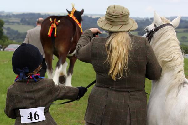Sioe Llandysul 2017 - pony show time