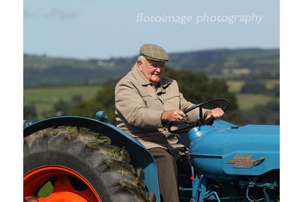 Llandysul Show 2015 - tractor